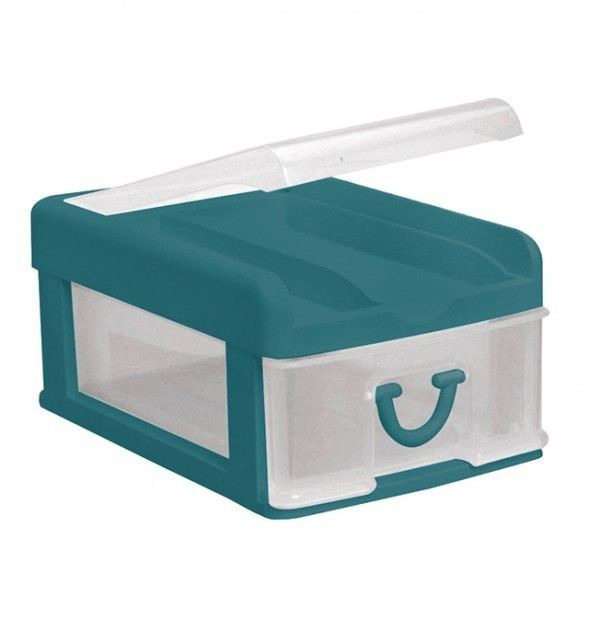 Clear Nic Nack 1 Drawer - Green