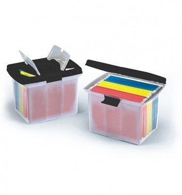 Deluxe File Caddy Black