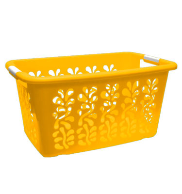 Ultra Laundry Basket Yellow